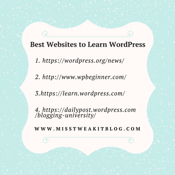 Best Websites to Learn WordPress