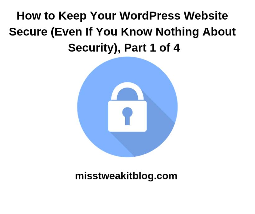 WordPress Website Secure