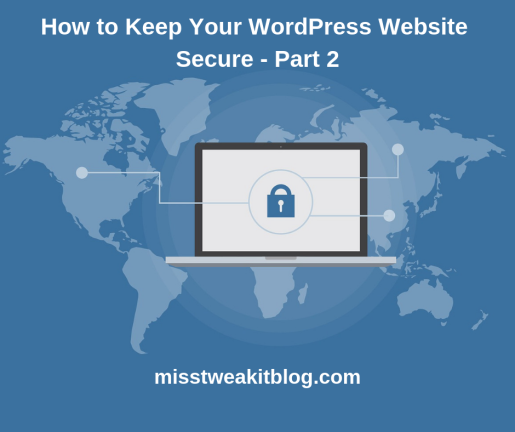 WordPress Website Secure - Part 2(1)